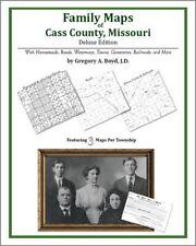 Family Maps Cass County Missouri Genealogy Plat History