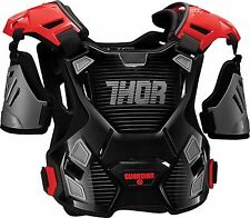 Thor Adult Guardian Deflector Body Armour MD/LG Black/Red Quad ATV MX
