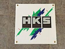 HKS banner sign shop garage wall racing performance turbo exhaust power JDM car