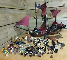 LEGO Pirates of the Caribbean Queen Annes Revenge 4195 + figures - incomplete