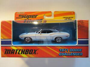 MATCHBOX SUPER KINGS K-203 1971 DODGE CHALLENGER MIB
