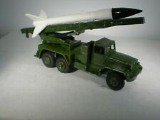 Dinky Toys Military Army Honest John Missile Launcher #665 EXCELLENT