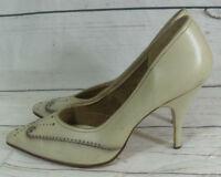 true  Vintage  1950s Italo Vollo Ladies Court Shoes   UK 4
