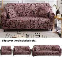 Couch Sofa Staubschutz Elastische Schonbezug Blume Gedruckt Set Möbelzubehör