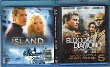 Blu-ray  THE ISLAND - BLOOD DIAMOND