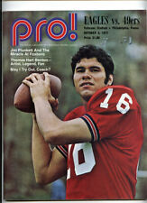 San Francisco 49ers v Philadelphia Eagles _RARE_ 1971 Game Program  Jim Plunkett