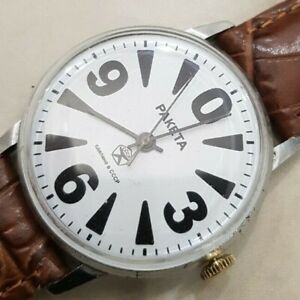 Vintage watch Raketa Big Zero 2609. Mechanical Wristwatch. USSR