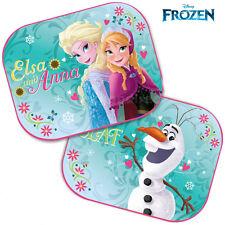 Two Disney Frozen  Blinds Car Window Sun Shades Mesh Kids Baby Children New