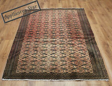 OLD WOOL HAND MADE ORIENTAL FLORAL RUNNER AREA RUG CARPET 284x124CM