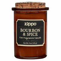 Zippo Spirit Candle - Bourbon & Spice, 70008, New Condition(5 oz. jar)