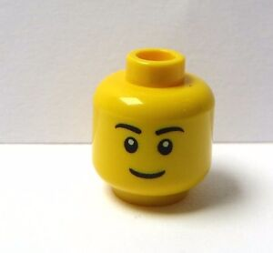 Lego 1 X  Yellow Head  For Man Male  Girl Femal Minifigure Standard