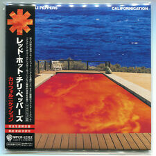 Red Hot Chili Peppers - Californication(Japan Mini Lp. CD, May-2007, WEA)