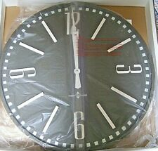 "32"" Wall Clock in Brown"