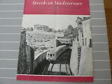 1954-03 STA STREEK & STADSVERVOER HELLEENSE EL. SPOOR PIRAES-ATHENE,NS CARS,PCC