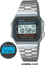 CASIO WATCH 80'S VINTAGE RETRO A168WA-1 A168WA A168 12-MNTH WARANTY