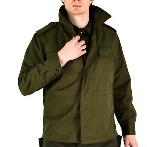 Original vintage Czech army field jacket M85 military Olive green military NEW