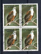 Costa d'avorio 1983 Uccelli quartina usata a