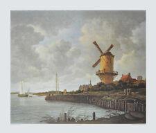 Jacob van Ruisdael Kunstdruck Poster Bild Lichtdruck Die Mühle von Wijk 80x100cm