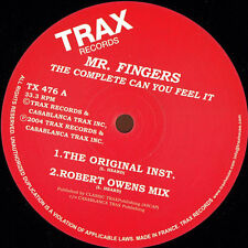 MR. FINGERS - THE COMPLETE CAN YOU FEEL IT - TX476 Houseclassics VINYL