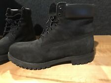 Timberland black boots men's size 15 EUC Worn 2X's