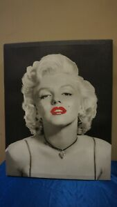 MARILYN MONROE COLLECTIBLE ART JERRY MICHAELS LOOK OF LOVE CANVAS PRINT 15 X 19