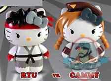 Street Fighter x Sanrio Hello Kitty Pvc Box Set Ryu Vs. Cammy