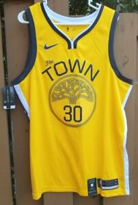 New Nike Swingman Warriors Stephen Curry #30 THE TOWN (BQ1159-731) Size XL (52)