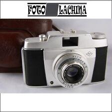 AGFA SILETTE con Agnar 45 mm f 2,8 FUNZIONANTE  + borsa  in cuoio  originale