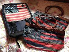 Rucksack u. zwei Taschen Schultaschen USA Motiv - Neu 🇺🇸 - Handtaschen