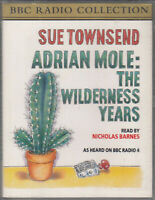 Sue Townsend Adrian Mole Wilderness Years 2 Cassette Audio Book Abridged