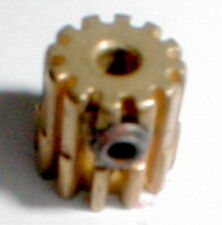 14 Tooth Set Screw Style Vintage Brass Pinion Gear 48 Pitch  .078 shaft motors