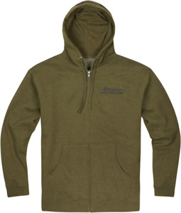 Icon Clasicon Zip Hoodie - Green / All Sizes