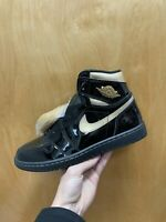 NEW Nike Air Jordan 1 Retro High OG Black/Metallic Gold