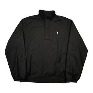 Vintage RALPH LAUREN POLO GOLF Mens Pullover Jacket Medium