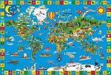 El asombroso mundo: niños Schmidt Rompecabezas 200 piezas 56118 edades 8 Plu