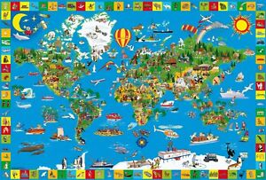 Your Amazing World: Children's Schmidt Jigsaw Puzzle 200 pieces 56118 Ages 8 plu