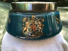 More details for vintage schweppes advertising ceramic/glass bowl royal crests unusual and rare