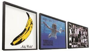 """12"""" Bilderrahmen für LP's - Rahmen für Schallplatten - Vinyl Bilderrahmen"""