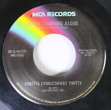 Country 45 Loretta Lynn/Conway Twitty - Living Together Alone / Louisiana Woman,