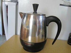 Farberware Superfast Fully Automatic Coffee Pot Percolator 2-4 Cup Model 134