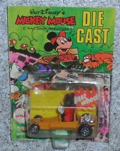 Disney Mickey Mouse Diecast Fast Wheels Dragster Mickey