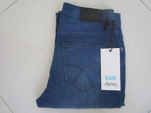 Men's Riders R2 Slim & Narrow Blue Crew Stretch Jeans  Size 28