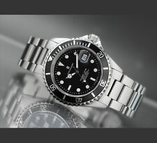 STEINHART OCEAN 1 BLACK Diver Watch T0204 Men Swiss Sapphire Date Luxury New 42