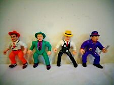 Vintage 1990 Playmates Dick Tracy & The Rodent Action Figures Lot Of 4