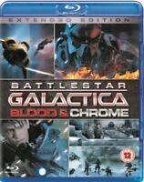 Battlestar Galactica - Sangre y Cromo - Completo Mini Serie Blu-Ray Nuevo Blu-R