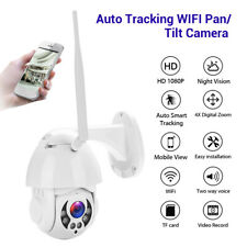 HD 1080P Wireless Wired Camera Security CCTV 2Way Audio APP Control Wall Mounted