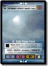 Star Trek CCG DS9 Deep Space 9 Study Plasma Storm