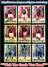 TOPPS MATCH ATTAX 2007-08 (TEAMS W CONT.) *PICK THE CARDS YOU NEED*
