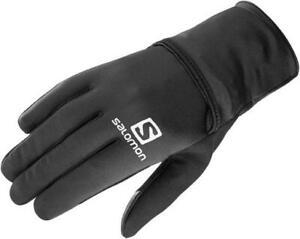 Salomon Fast Wing Winter Gloves - Black  Size Large ~ New ~
