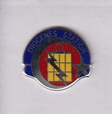 US ARMY TUSLOG DET 4 TURKEY MILITARY INTELLIGENCE MI crest DUI badge c/b G-23